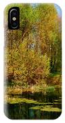 The Pond In The Spring IPhone Case
