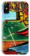 The Pool Sharks 1 IPhone Case