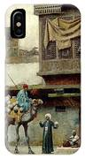 The Pottery Seller In Old City IPhone Case