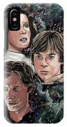 The Princess, The Knight And The Scoundrel IPhone Case