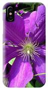 The Purple Sunny Day  IPhone Case