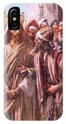 The Question Of The Sadducees IPhone Case