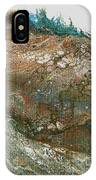 The Raging River-acrylic Pour#8 IPhone Case
