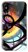 The Randomness Of It All Abstract IPhone Case