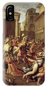 The Rape Of The Sabines IPhone Case