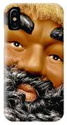 The Real Black Santa IPhone Case