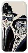The Real Blues Brothers IPhone Case