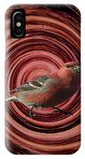The Red Bird IPhone Case