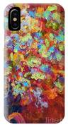 The Red Bouquet IPhone Case