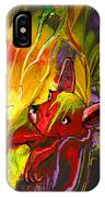 The Red Dog IPhone Case