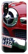 The Red Studabaker IPhone Case