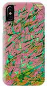 The Regatta In Pink Seas IPhone Case