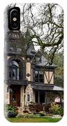 The Rhine House Of Napa Valley IPhone Case