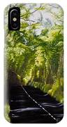 The Road Through Glenastar IPhone Case