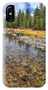 The Rocks Of Rock Creek IPhone Case