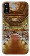 The Rose Main Reading Room Nypl IPhone Case