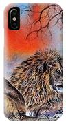 The Royal Lions Of The Mara IPhone Case