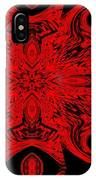 The Royal Red Crest IPhone Case
