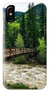 The Rushing Animas River - Colorado IPhone Case