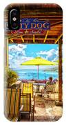 The Salty Dog Cafe St. Thomas IPhone Case
