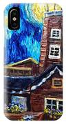 The Salty Dog Saloon IPhone Case