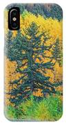 The Sanctity Of Nature Reified Through A Photographic Image  IPhone Case