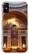 The Sanctuary Of Saint Matthew's Cathedral IPhone Case