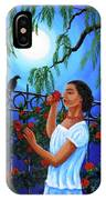 The Scent Of Red Roses IPhone Case