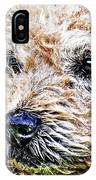 The Scruffiest Dog In The World IPhone Case