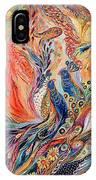 The Secret Of Blue Birds IPhone Case