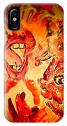 The Seven Sins Gluttony IPhone Case