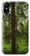 The Shadow Of The Spruce IPhone Case