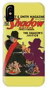 The Shadow The Shadows Justice IPhone X Case