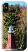 The Shoul Point Lighthouse IPhone Case