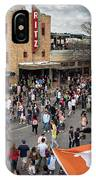 The Sights And Sounds Of Sxsw Are Enormous From 6th Street As Thousands Of Revelers Fill The Streets IPhone Case