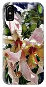 The Silk Flowers IPhone Case