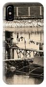 The Simple Life In Living Sepia IPhone Case