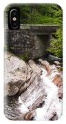 The Sinks Smoky Mountains Triptych IPhone Case
