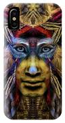 The Sioux Spirit - The Plumed Lion IPhone Case