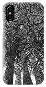 The Skyscrapers Of The Forest IPhone Case