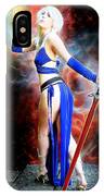 The Sorceress And The Sword IPhone Case