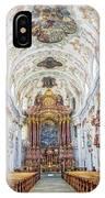 Lucerne's Jesuit Church  IPhone Case