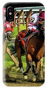 The Sport Of Kings IPhone Case