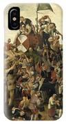 The St Martin's Day Kermis IPhone X Case