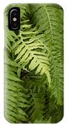 The Standout Fern IPhone Case