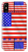The Stars And Stripes 2 IPhone Case