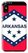 The State Flag Of Arkansas IPhone Case