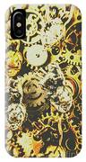 The Steampunk Heart Design IPhone Case