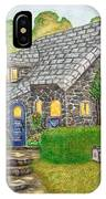 The Stone Cottage  IPhone Case