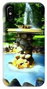 The Stone Fountain IPhone Case